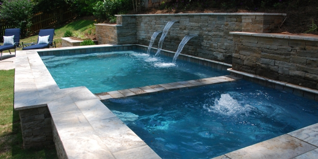 Pool/Spa Combo